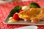 鶏肉のグリル野菜の蒸し煮添え