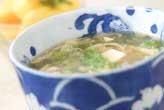 豆腐とレタスのスープ