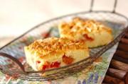 マンマの手作りルバーブのケーキ