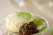バニラアイス&小豆