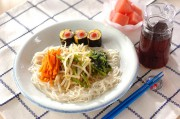 レンジナムル素麺ランチ