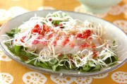 鯛のお刺身サラダ