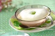 ソラ豆のメレンゲスープ