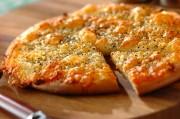 米粉のヘルシーピザ