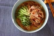 梅の豚しゃぶ素麺