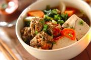 肉団子と野菜の煮物