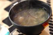 大根とホタテ缶のスープ