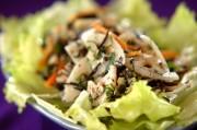 レンコンとヒジキのサラダ