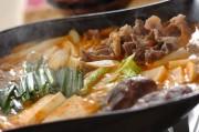 牛すじキムチ鍋