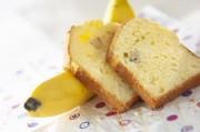 簡単バナナ入りパウンドケーキ