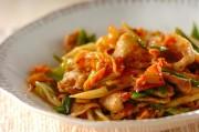 白菜と豚バラのキムチ炒め