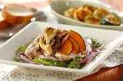 豚肉とマイタケのおかずサラダユズドレッシング