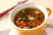 さつま揚げのトマトスープ