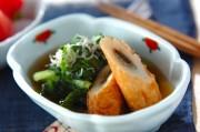 青菜とゴボウ天のサッと煮