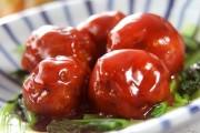 甘酢肉団子
