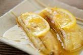 焼きレモンバナナ