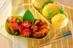 鶏むね肉のコチュマヨ焼き弁当