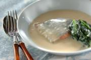 鮭のミルク煮