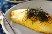 納豆ジャコの和風オムライス