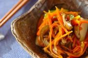 卵豆腐の野菜あんかけ