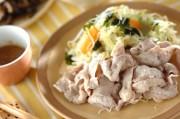 ゆで豚と野菜のサラダ仕立て