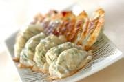 大葉と豆腐の餃子