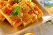 レモンとマンゴーの爽やかチーズ風味スティックケーキ