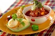 スタミナトマト素麺プレート