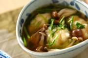 山芋団子のスープ