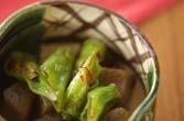 シシトウのピリ辛炒め