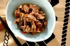 豚肉と昆布の炒め煮