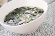 卵のふわふわスープ
