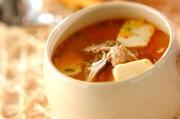 代謝を促す!キムチのみそスープ