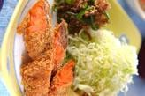 塩鮭のフライ