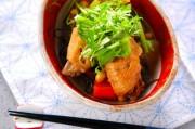 手羽中と大豆の煮物