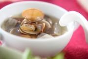 大根とアサリのスープ