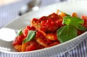 豚ヒレ肉と根菜のトマト煮
