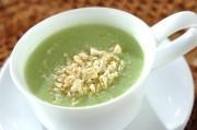 エンドウ豆のグリーンポタージュ