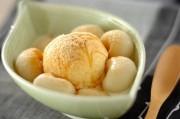 豆腐の白玉アイス