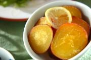 さっぱりほっくり!サツマイモのレモン煮