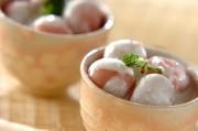 イチゴ白玉~ココナッツヨーグルトかけ~