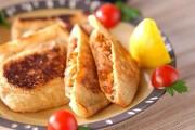 キムチ納豆の油揚げ袋