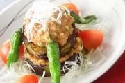 ナスの中華風ステーキ