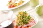 タコと野菜のサラダ