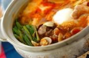 アサリと豆腐のチゲ鍋