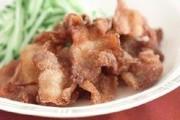 薄切り豚肉の竜田揚げ