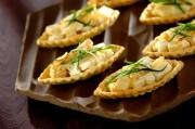 筍とフェタチーズのタルト