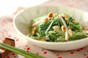 水菜の和風マヨ和え