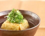 穴子豆腐スープ仕立て