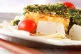 豆腐ステーキニラソース